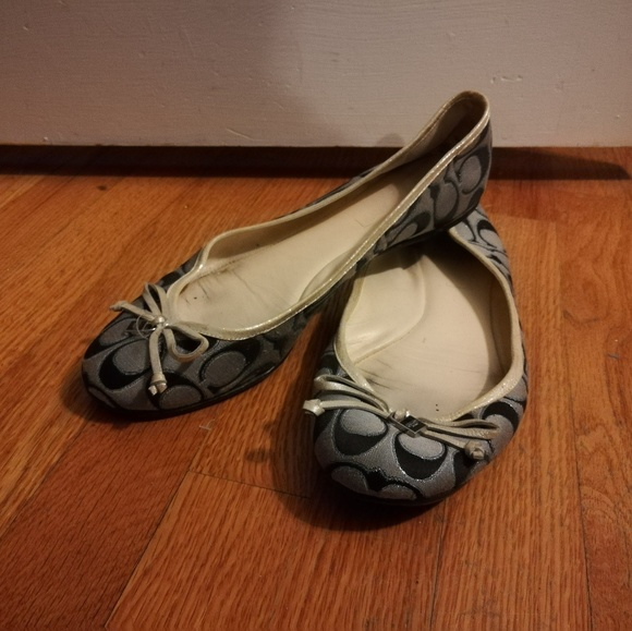 Coach Shoes - BROKEN Coach flats size 9.5